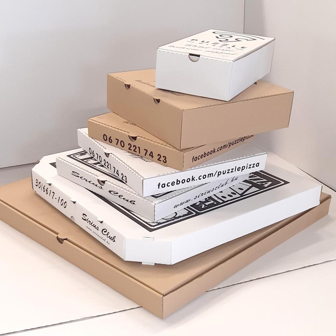 pizzás doboz készítés
